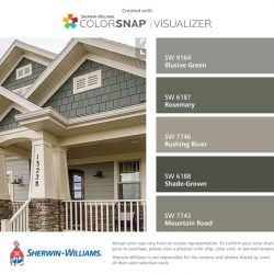 Sherwin Williams Super Paint Exterior Latex Acrylic Elite Home Exteriors Nw