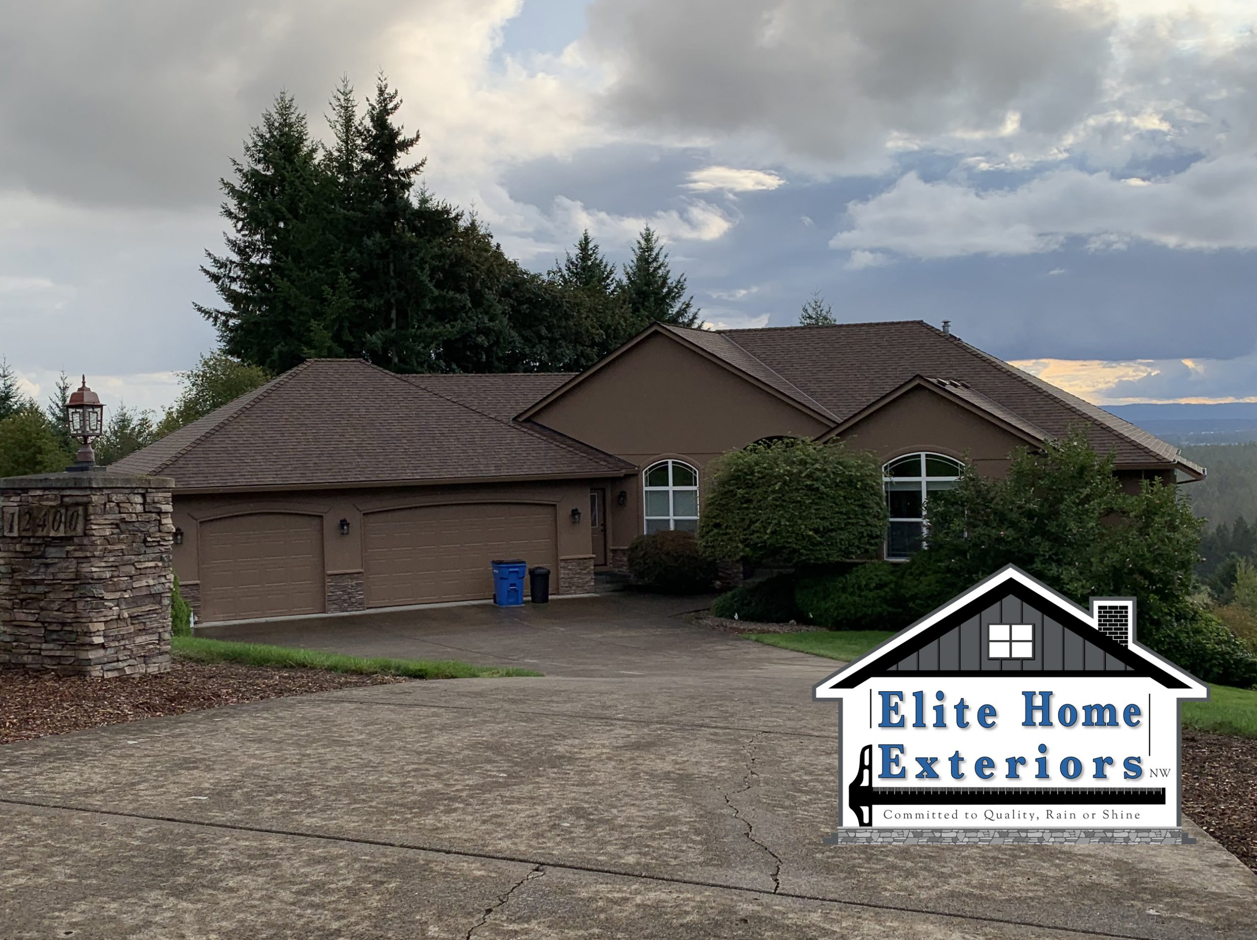 CertainTeed Landmark Roof Replacement Camas WA After