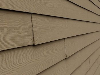 hardie siding bad joints Contractor Defect