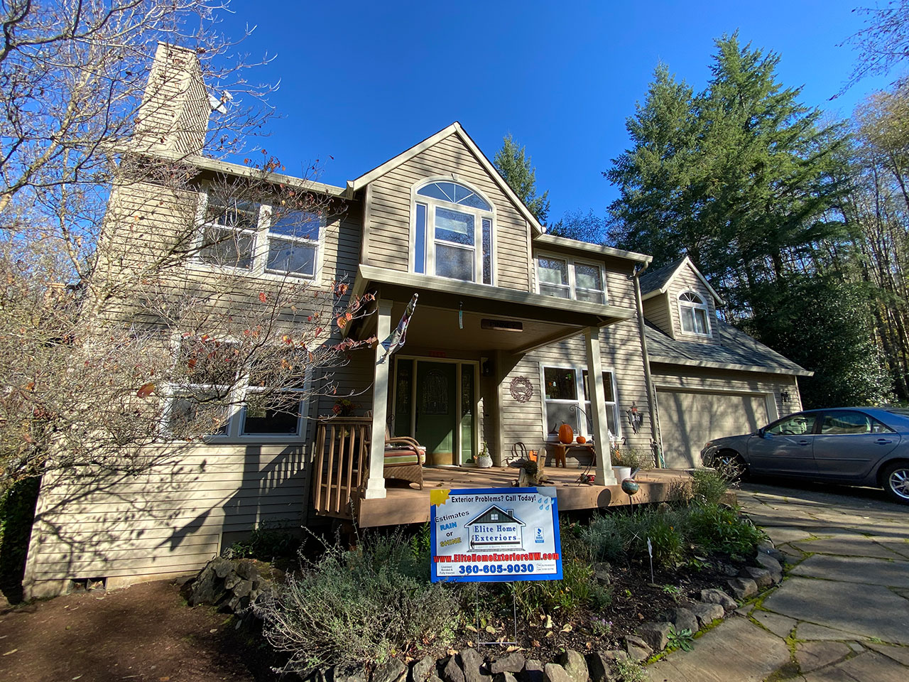 Cedar Lap Siding Dry Rot Repair And Replacement Battle Ground Wa
