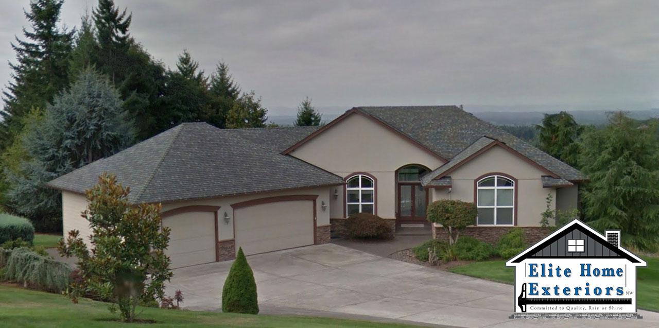 Certainteed Landmark Roof Replacement Camas Wa Before