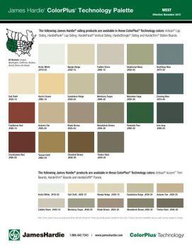 James Hardie Plank Color Plus Siding Fiber Cement