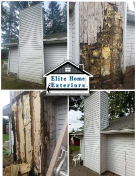 Vinyl Siding Rot Replacement Contractor Vancouver Wa