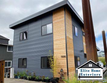 Metal And Cedar Siding Contractor Portland Or