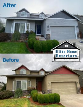 CertainTeed Siding Replacement James Hardie Plank Lap Hardie Shake Shingles Clackamas OR