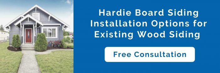 Can You Put Hardie Board Over Wood Siding